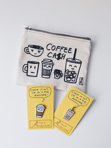 Stacy Michelson 3 Piece Coffee Friends Set