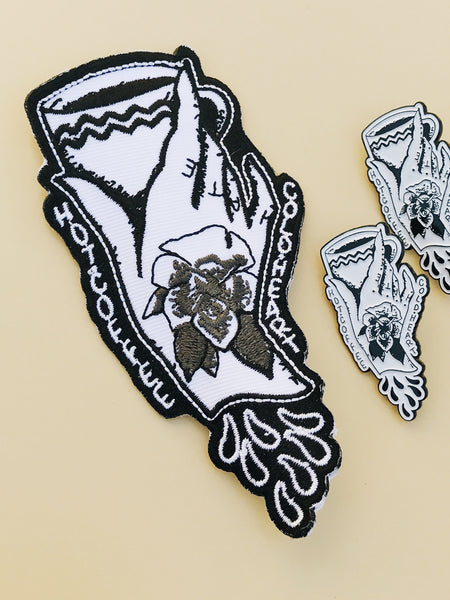 Moonless Night Press Cold Heart Patch
