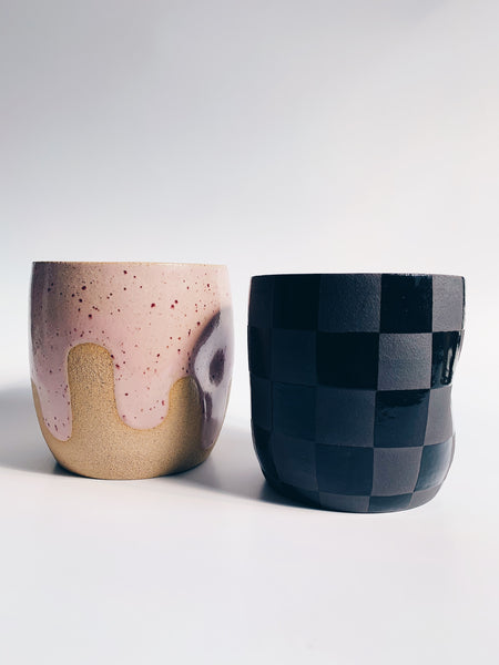 artschoooldropout checkered mug 6