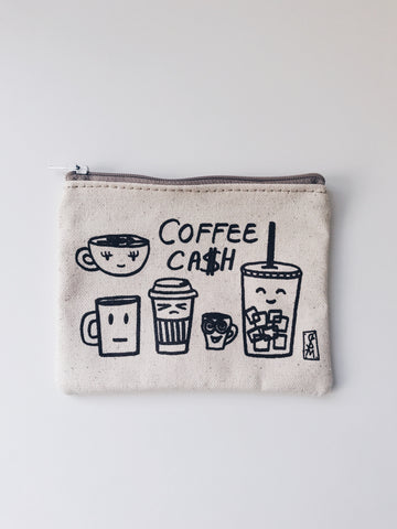 Stacy Michelson Coffee Cash Coin Purse