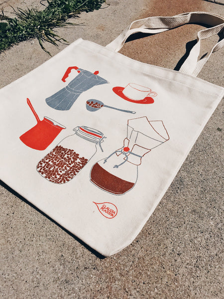 Claudia Pearson Coffee Everyday Tote