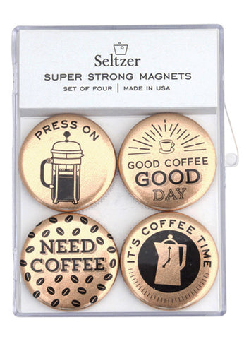 Seltzer Goods Coffee Magnet Set