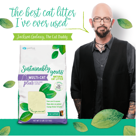 Sustainably Yours Multi Cat Plus Litter