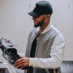 Bryson Tiller's Custom Mario and Luigi Themed Jordans