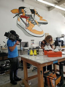 Starter Story - From Customizing Sneakers in the Living Room Part Time to a Dream Studio Full Time