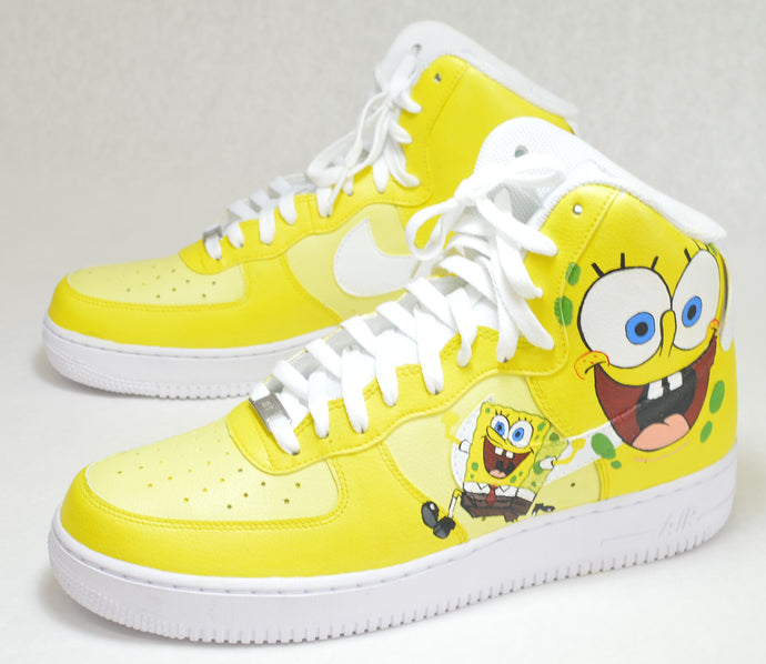 SpongeBob SquarePants Nike Air Force Ones
