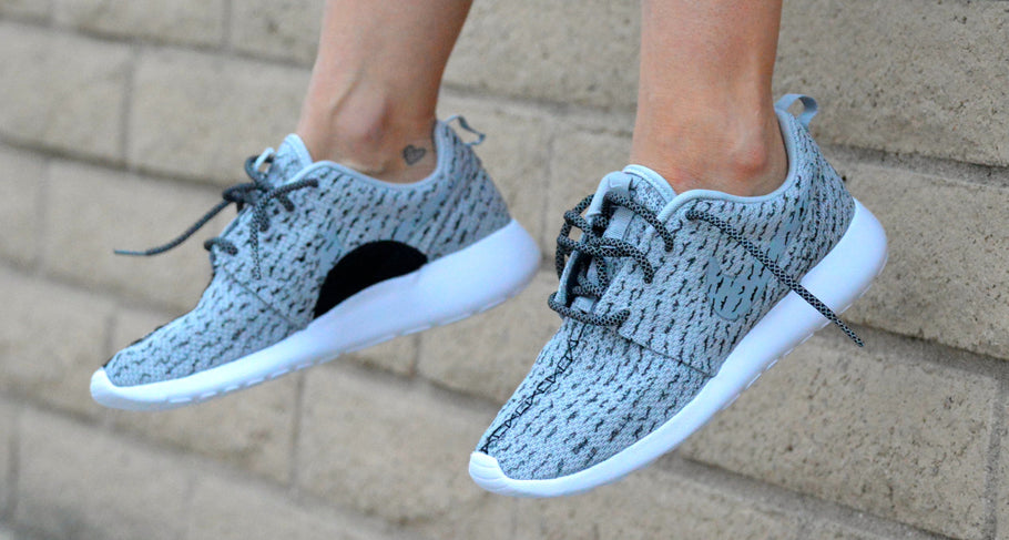 Custom Adidas Yeezy Boost 350 - Nike Roshe One