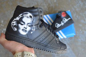 Custom Marilyn Monroe Adidas Top Ten Sneakers