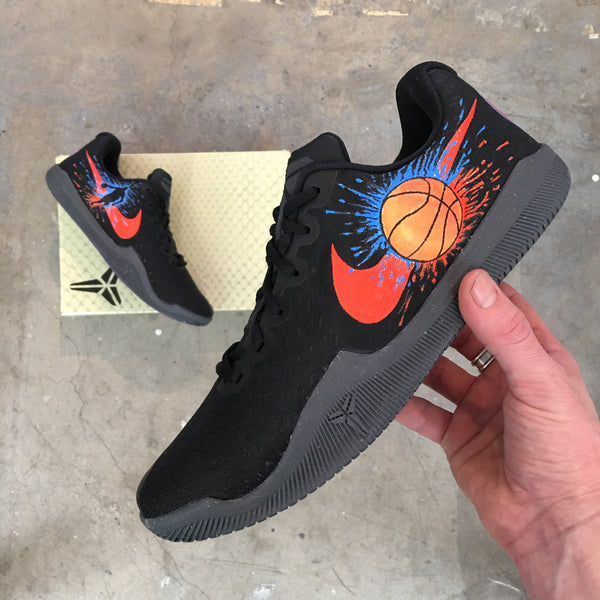 New York Knicks On These Sweet Kicks - Custom Hand Painted Nike Kobe Lows Mamba Instinct
