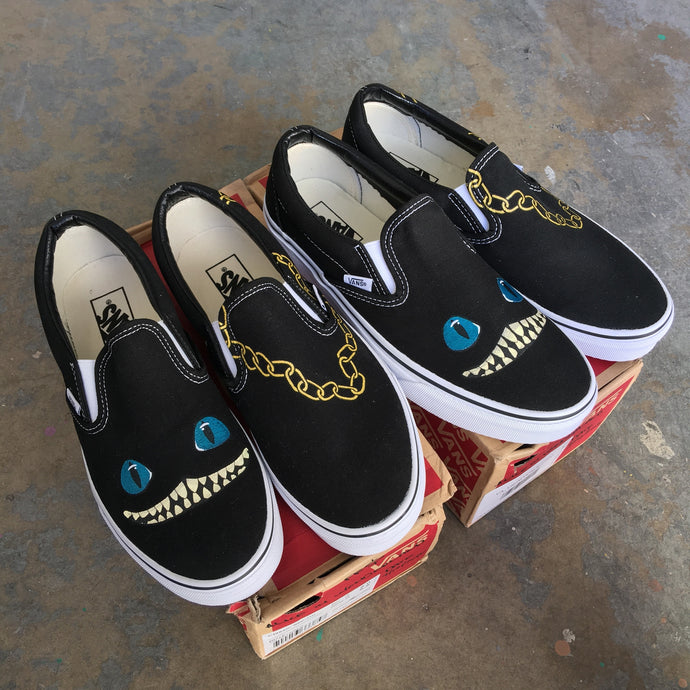 Alice In Wonderland Vans