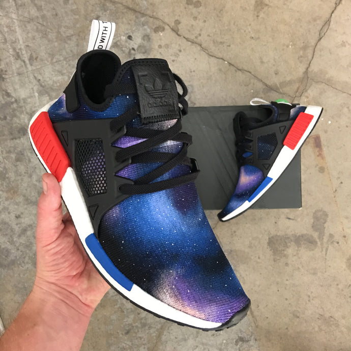 Custom Painted Adidas Galaxy NMD_XR1's