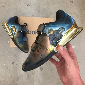 Supersoldier Master Chief Custom Painted HALO Shoes!