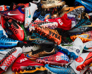 NFL Players Get Custom Painted Cleats For #mycausemycleats