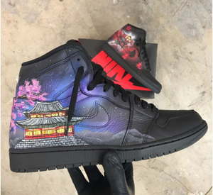 Samurai/ South Korea Themed Nike Air Jordan's