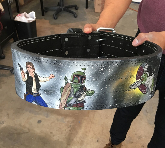 Star Wars Weightlifting Belts!