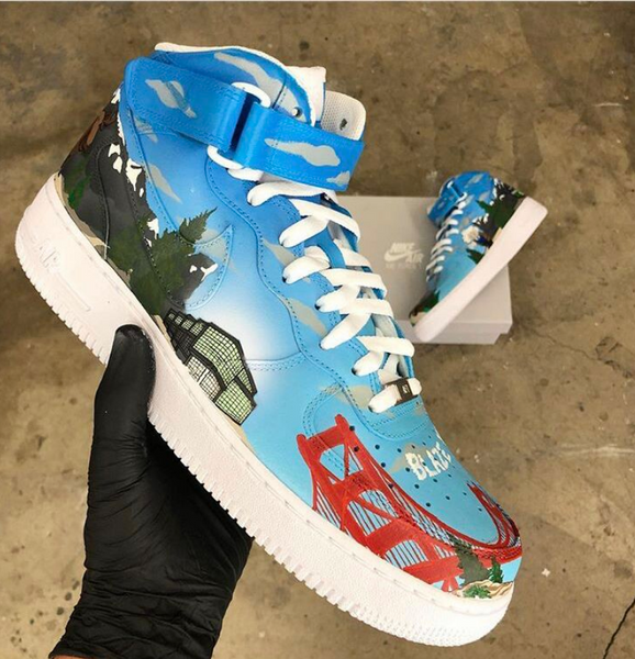 Dreamforce 2018- Nike Air Force 1's