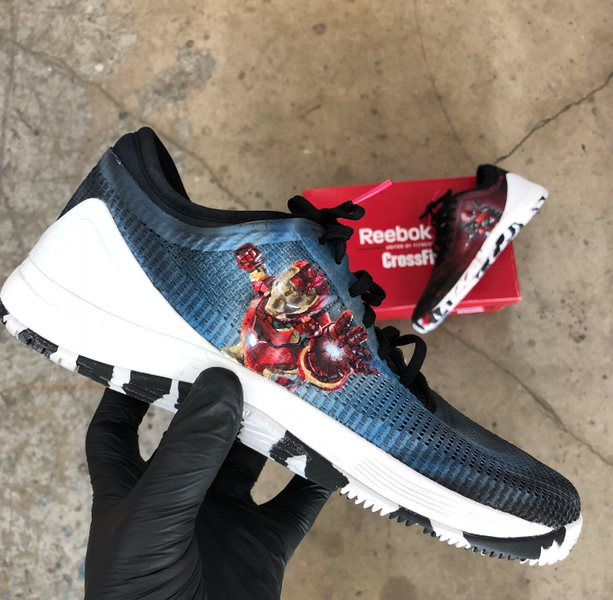 Iron Man and Deadpool Reebok Nano 8's!