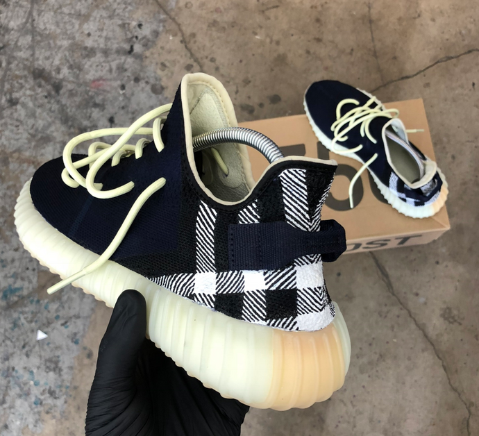 Burberry Butter Yeezy's, Strange or Genius?