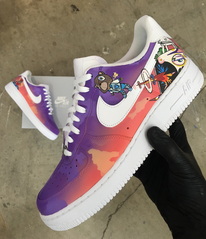 Kanye West's Graduation Album- Nike Air Force 1's