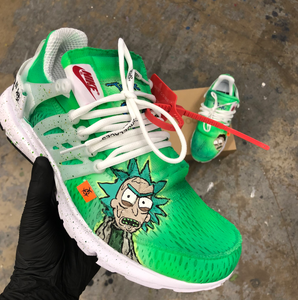 Custom Rick & Morty Shoes