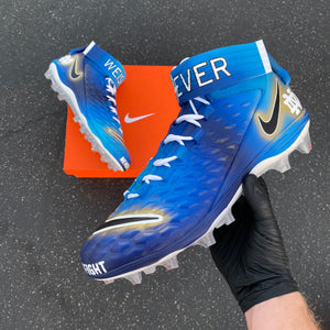 NFL #mycausemycleats 2019 - Custom Cleats Los Angeles Chargers Defensive Tackle Jerry Tillery and Linebacker Drue Tranquill.