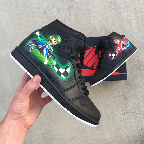 mario kart nintendo shoes