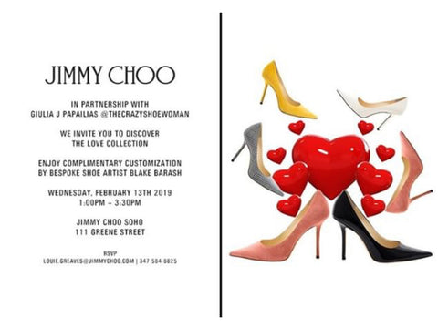 Jimmy Choo Customization Event