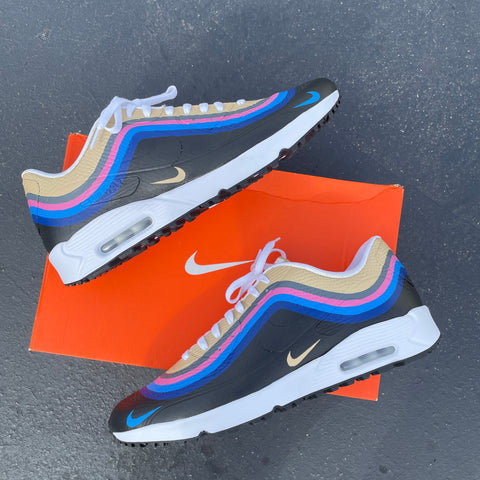 Sean Wotherspoon Nike Air Max Golf Shoes Custom