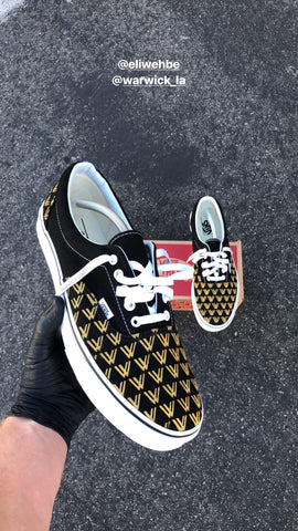 Custom Painted Vans Shoes