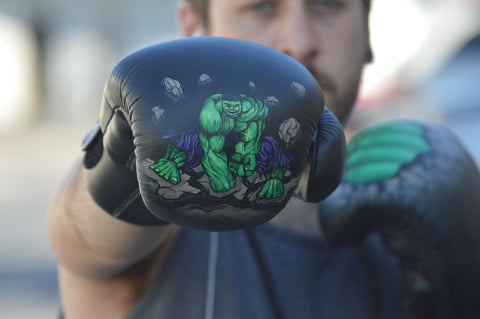 Custom Boxing Gloves, The Incredible Hulk