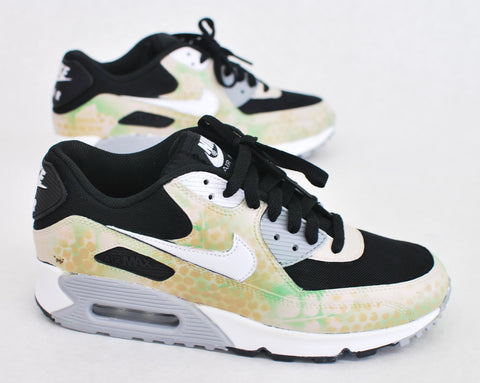 Camo NikeAM90, custom Nike Air Max, B Street Shoes