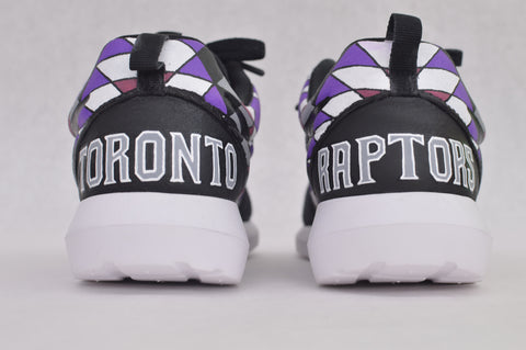 custom roshe one, painted nike roshe, hand pained nike roshe one, bstreetshoes, custom roshe run, Toronto Raptors