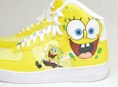 SpongeBob SquarePants Nike Air Force Ones – B Street Shoes