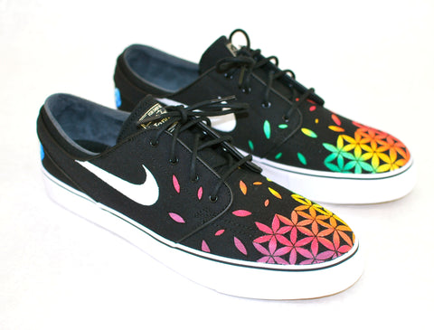 b17948f4b2 Nike Stefan Janoski Flower Green Blue Eyes Color Makeup For Green ...