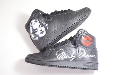 Custom Marilyn Monroe Adidas Shoes