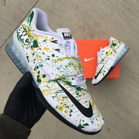 Custom Hand Painted Nike Romaleos