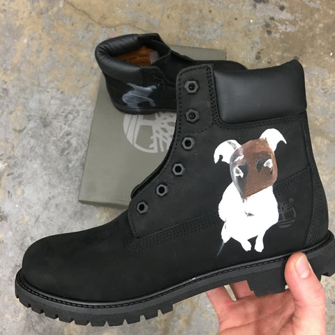 Custom Hand Painted Timberlands