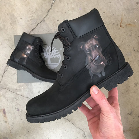 Custom Painted Timberland Boots