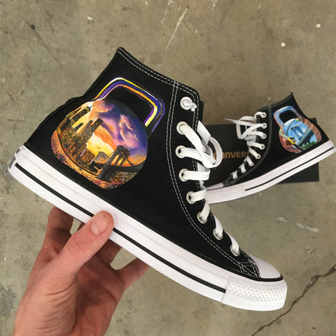 Custom Hand Painted Converse High Tops