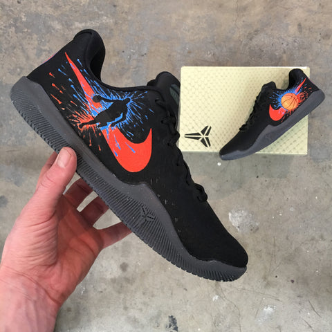 Custom Hand Painted Nike Kobes