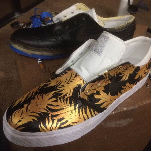custom nike sneakers, custom nike shoes, stefan janoski, hand painted shoes