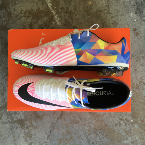 18145493b35f Custom Nike Mercurial Soccer Cleats - Hand Painted – B Street Shoes