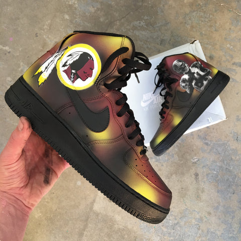 Rip Sean Taylor 1983 2007 Custom Painted Nike Air Force 1 High