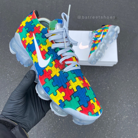 autism awareness nike vapormax
