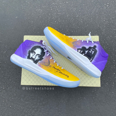 Custom Kobe and Gigi Bryant Sneakers