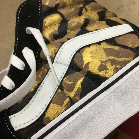 Custom Painted Vans Sk8 Hi, Unique Art Shoes