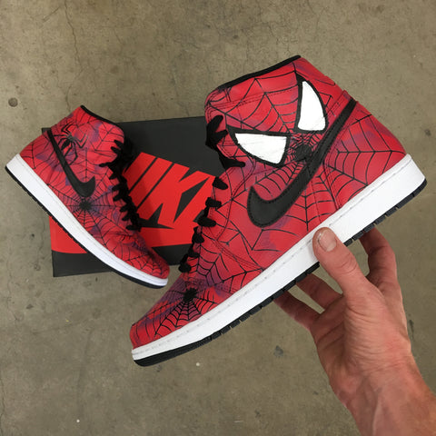 Spiderman Jordan Retro Hightops