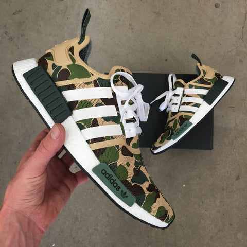 c731449dc Go Bananas for BAPE Inspired Custom Painted Adidas NMD_R1 – B Street ...