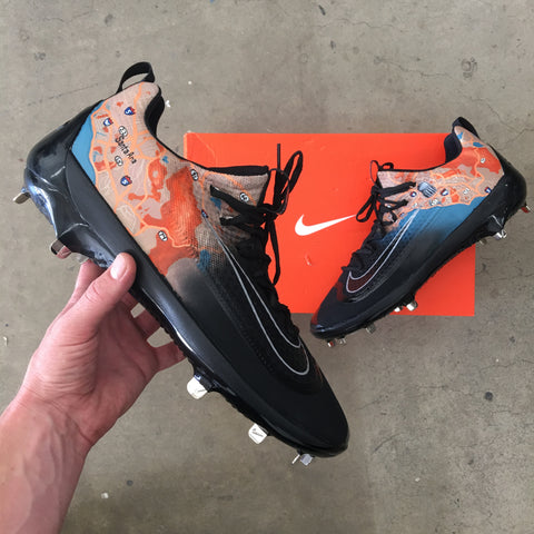Baseball Cleats Custom Painted For