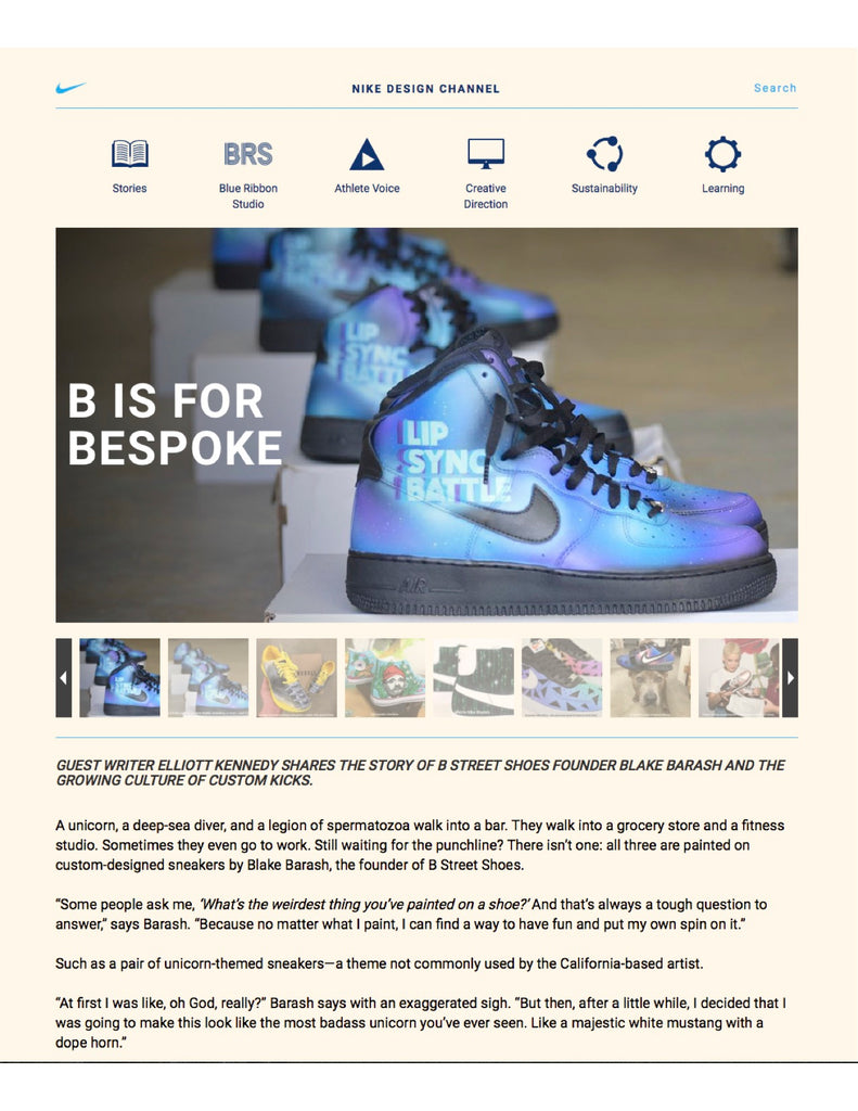 Nike Design Interview with Blake Barash